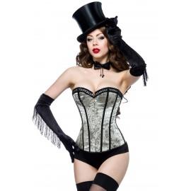 Burlesque Jacquard-Corsage