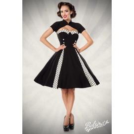 Vintage-Kleid mit Bolero